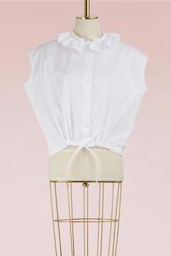 Atlantique Ascoli Petite Anémone cotton blouse