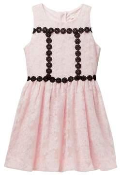 Kate Spade floral mesh dress (Big Girls)