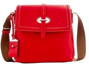 Dooney & Bourke Florentine Toscana Small Messenger Bag. - RED - STYLE