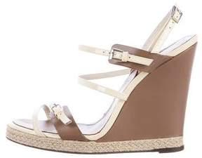 Barbara Bui Multistrap Wedge Sandals