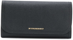 Burberry slim continental wallet - BLACK - STYLE