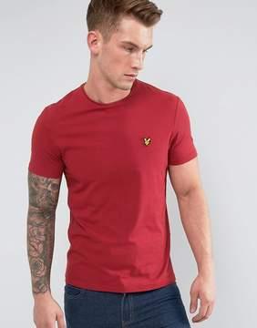 Lyle & Scott Garment Dye T-shirt Red