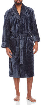 Daniel Buchler Chevron Quilted Plush Robe