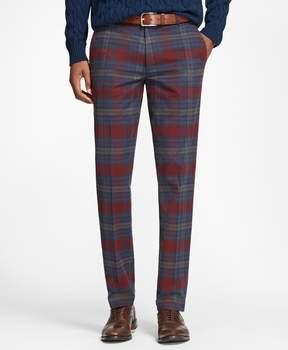 Brooks Brothers Milano Fit Tartan Stretch Pants