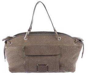 Brunello Cucinelli Pebbled Suede Shoulder Bag