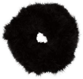 Giorgio Armani Black Feather Snood