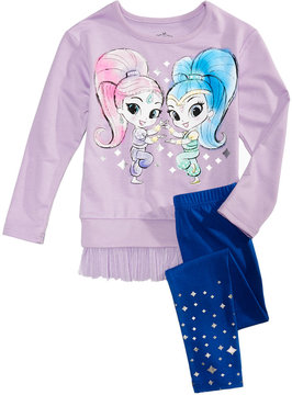 Nickelodeon Nickelodeon's Shimmer and Shine Graphic-Print Tunic & Leggings Set, Toddler Girls (2T-5T)
