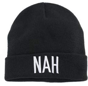 Mudd Women's Embroidered Nah Beanie