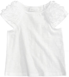 First Impressions Rosette-Sleeve Top, Baby Girls, Created for Macy's