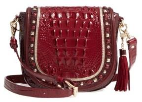 Brahmin Sonatina Mini Sonny Leather Crossbody Bag - Red