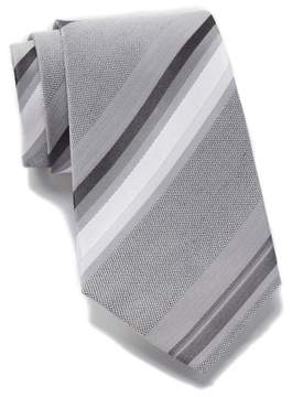 Kenneth Cole Reaction Ethan Silk Blend Stripe Tie