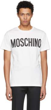 Moschino Off-White Logo T-Shirt