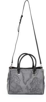 Alviero Martini Women's Grey/black Pvc Handbag.
