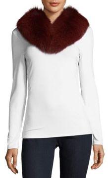 Yves Salomon Fox Fur Collar