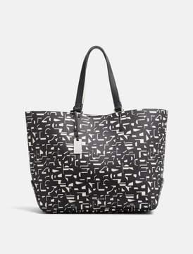 Calvin Klein pebble printed large shopper bag