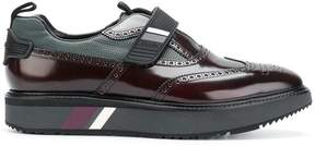 Prada touch strap fastening shoes