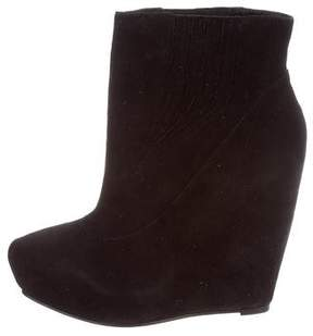 Elizabeth and James Score Wedge Ankle Boots w/ Tags