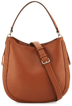 Rebecca Minkoff Unlined Convertible Braided Hobo Bag - ALMOND - STYLE