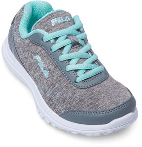 Fila Lite Spring Heather Girls Running Shoes - Little Kids/Big Kids