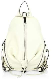 Rebecca Minkoff Medium Julian Leather Backpack - ANTIQUE WHITE - STYLE