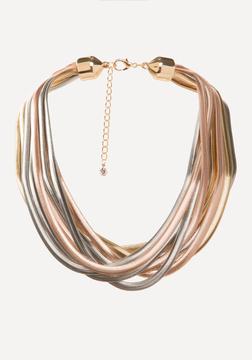Bebe Multi-Hue Metal Necklace