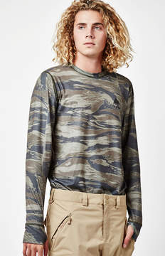 Burton Midweight Base Layer Camo Long Sleeve Snow T-Shirt