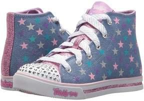 Skechers Twinkle Toes: Sparkle Glitz - Shiny Starz 10863L Lights Girl's Shoes