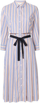Mantu striped shirt dress