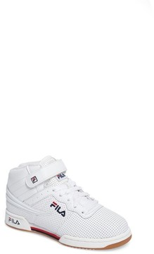 Fila Boy's F-13 Perforated High Top Sneaker