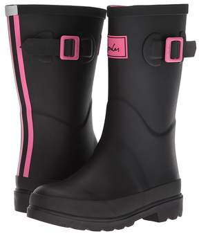 Joules Kids Field Welly Rain Boot Girls Shoes