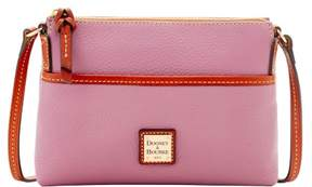 Dooney & Bourke Pebble Grain Ginger Pouchette Shoulder Bag - MAUVE - STYLE