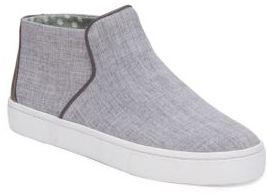ED Ellen Degeneres Fallon Leather Trim Slip-On Sneakers