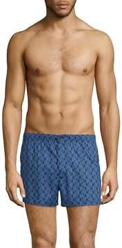 Marc by Marc Jacobs Men's Bellflower-Print Cotton Boxer Shorts