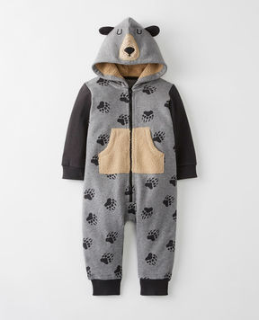 Hanna Andersson Critter Romper In French Terry