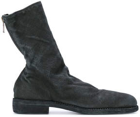 Guidi fitted zipped boots