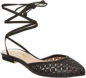 French Sole Tina Leather Flat