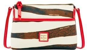 Dooney & Bourke Serengeti Ginger Crossbody Shoulder Bag - ZEBRA RED - STYLE