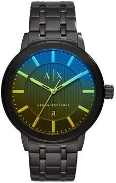 Armani Exchange Analog & Date Bracelet Watch