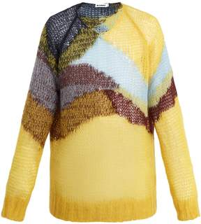 Jil Sander Loose-knit wool-blend sweater