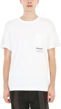 MHI White Cotton T-shirt