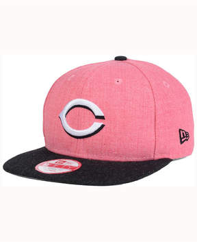 New Era Cincinnati Reds Heather 2Tone Snapback Cap