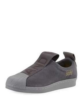 adidas Superstar Slip-On Suede Sneaker, Gray