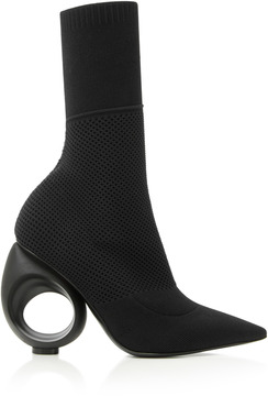 Burberry Kimberley Stretch-Knit Ankle Boots