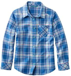 L.L. Bean L.L.Bean Girls' Flannel Shirt, Plaid