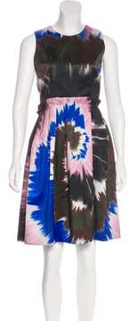 Rodarte Sleeveless Pleated Dress