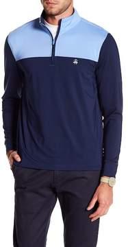 Brooks Brothers Half Zip Colorblock Long Sleeve Jacket