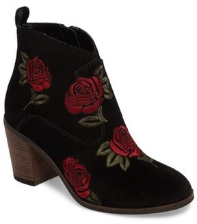 Lucky Brand Women's Pexton Embroidered Bootie