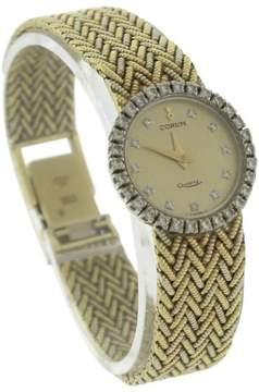 Corum 18K Yellow Gold Quartz Vintage 21mm Womens Watch
