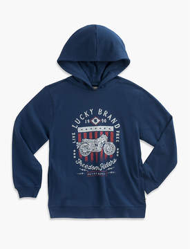 Lucky Brand MOTO PULLOVER HOODY
