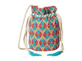 Sam Edelman Briar Beaded Bucket Drawstring Handbags